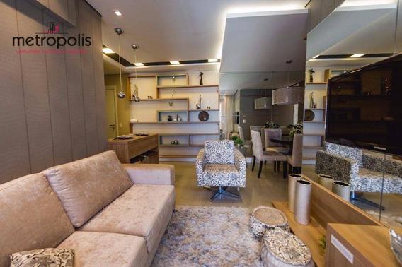 Apartamento Com 2 Dormitórios À Venda, 66 M² Por R$ 420.000,00 - Santa Paula - São Caetano Do Sul/sp - Ap0482