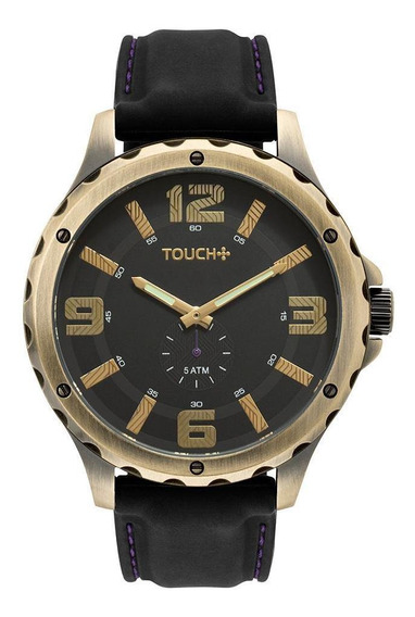 Relógio Touch Masculino Crush Dourado - Tw1l40ac/8p