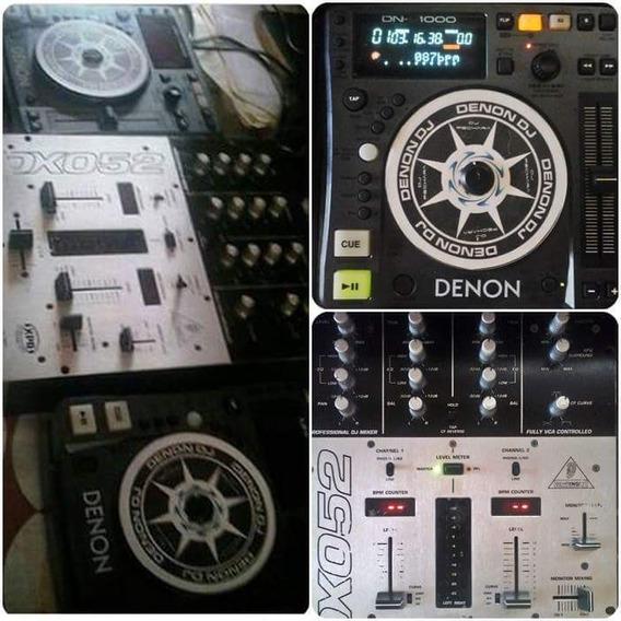 Cdj Denon S1000 Dj Controlador Mp3 E Cd Wav