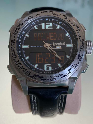 Relógio Timberland World Time / Chronograph