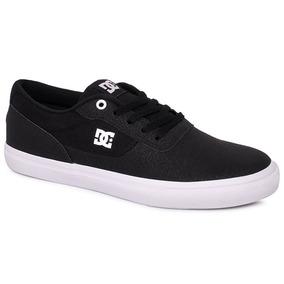 Tênis Dc Shoes Switch Le Preto/branco/preto