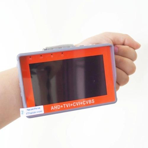 Imagen 1 de 7 de Monitor Probador Camaras Cctv Tester 5mp Tvi, Ahd, Cvi, Ptz