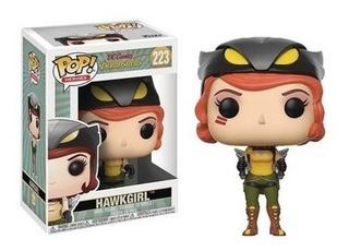 Funko Pop! Heroes Dc Bombshells W2 Hawkgril - Funko Pop