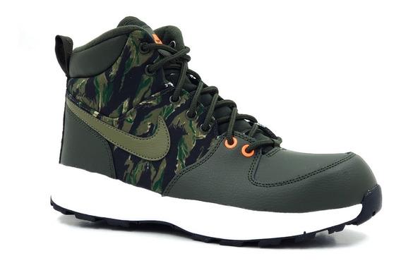 Nike Manoa Print Verde Militar Camuflaje Original Av3570300