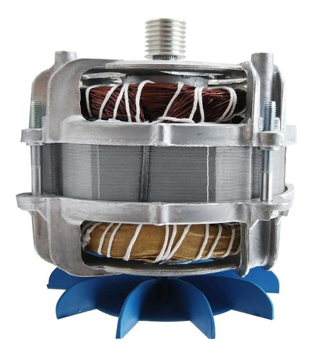 Motor Tanquinho Arno Polia Estriada 110v/220v Com Capacitor