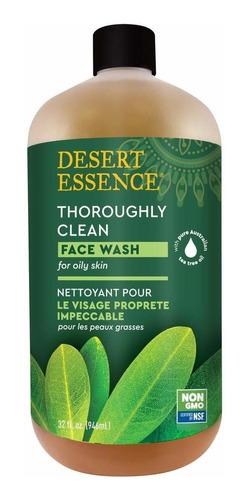 Desert Essence Limpieza Profunda De Rostro, 32 Onza