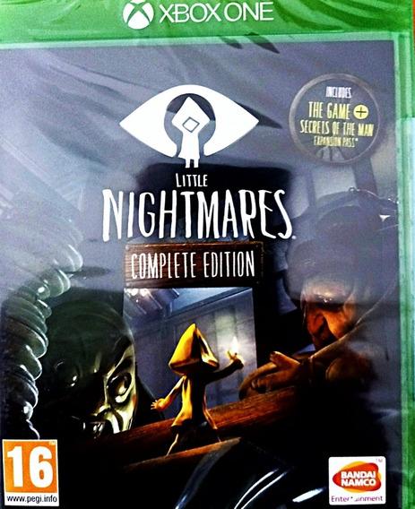 Little Nigtmares Complete Edition Xbox One Mídia Física Novo