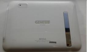 Tampa Tarseira Tablet Genesis Gt-8220s Branco C/ Lampada Led