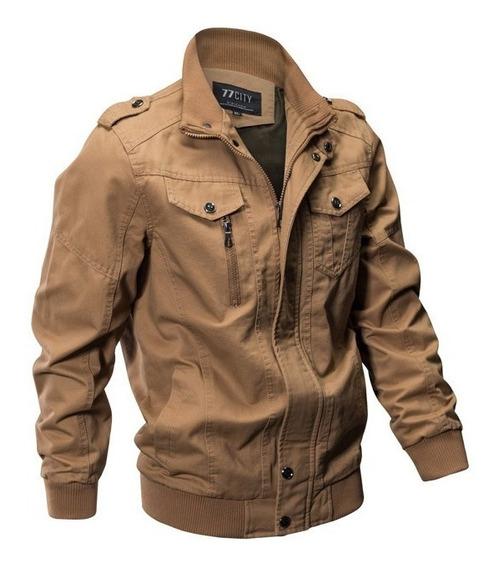 Jaqueta Masculina Estilo Militar Força Aérea Americana