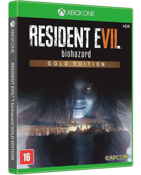 Resident Evil 7 Gold Edition - Xbox One - Novo Mídia Física