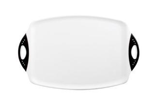 Dexas Chop Y Serve Tabla De Cortar 125 Por 20 Pulgadas Blanc