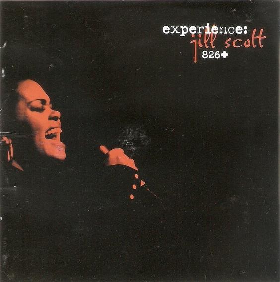 Cd Duplo Jill Scott - Experience 826+ - Novo Deslacrado***