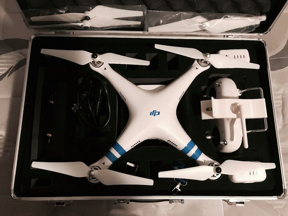 Drone Dji Phantom V2 + H3-3d + Fpv Immersion 5.8ghz + Case