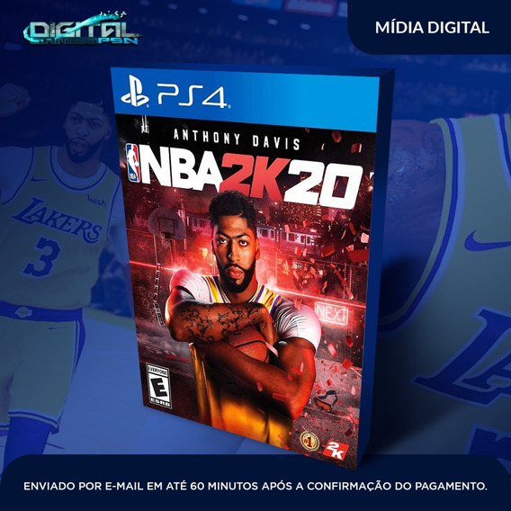 Nba 2k20 Ps4 Psn Game Digital Envio 10min.