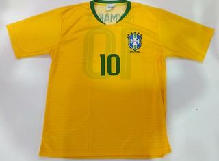Camisa Futebol Mania Seleção Brasileira R