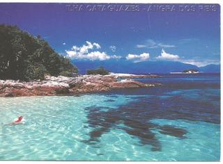 Bilhete Postal Ilha De Cataguazes/ Angra Dos Reis - Rj