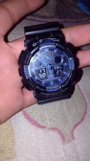 Reloj Casio G-shock Hombre Ga 100 1a1 Wr20bar Resist - Ga100