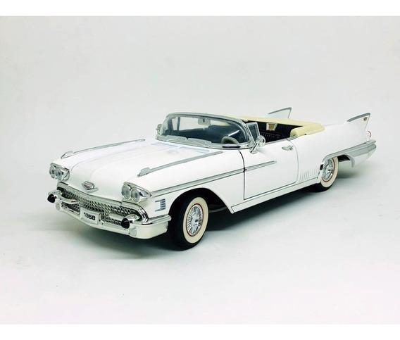 Cadillac Eldorado Biarritz Branco 1958 1:18 Yat Ming
