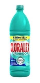 Caja Cloro Cloralex 12 Botellas De 950 Ml.
