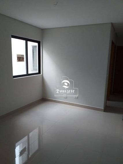 Apartamento Com 2 Dormitórios À Venda, 50 M² Por R$ 295.000,00 - Jardim - Santo André/sp - Ap7587