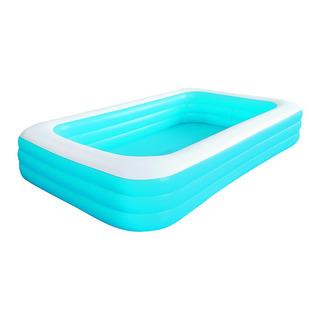 Alberca Inflable Mediana Azul 305x183x52cm Jilong