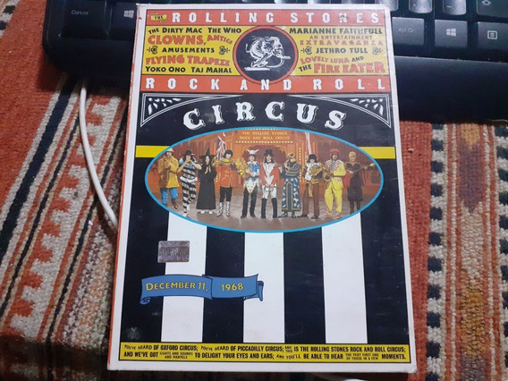 Rolling Stones Stones- Rnr Circus Dvd