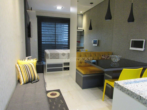 Studio Com 1 Dormitório À Venda, 32 M²  Granja Viana - Cotia/sp - St0022