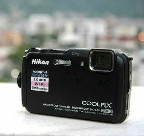 Camera Prova Dágua Nikon Aw110 Com Gps