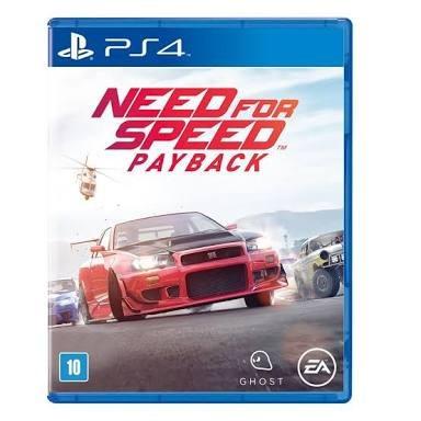 Ps4 - Need For Speed Payback - Mídia Física