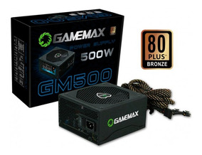 Fonte Atx 500w Power Supply Gm500 Gamemax