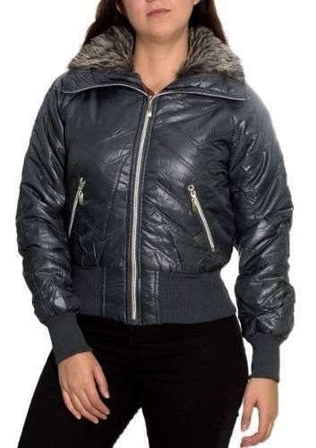 Jaqueta Feminina Bariloche Pelinhos Nylon Blusa Frio Inverno