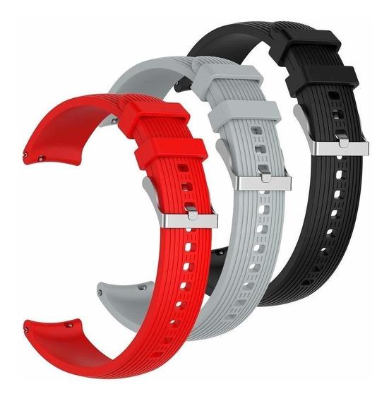 Banda Reloj Silicona 3 Pcs Banda Silicona Reloj Samsung Gal