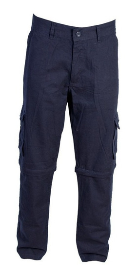 Pantalon Cargo Desmontable Gabardina Trekking