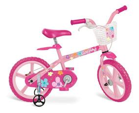 Bicicleta Aro 14 - Girls - Gatinha - Bandeirante