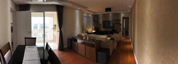 Excelente Apartamento Sacada Com Churrasqueira Vista