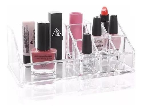 Porta Maquiagem Organizador De Acrílico P/ Batom Cosmeticos