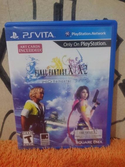 Final Fantasy X / X-2 Hd Remaster Ps Vita Frete R$10