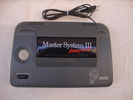Só Console - Master System 3 Funcionando Normalmente (leia)