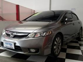 Honda Civic 1.8 Lxl Couro 2011 Automático - Câmbio Borboleta
