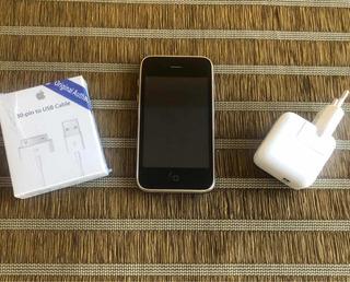 iPhone 3gs 32gb Tudo Ok Único Defeito: Luz De Fundo Ñ Acende
