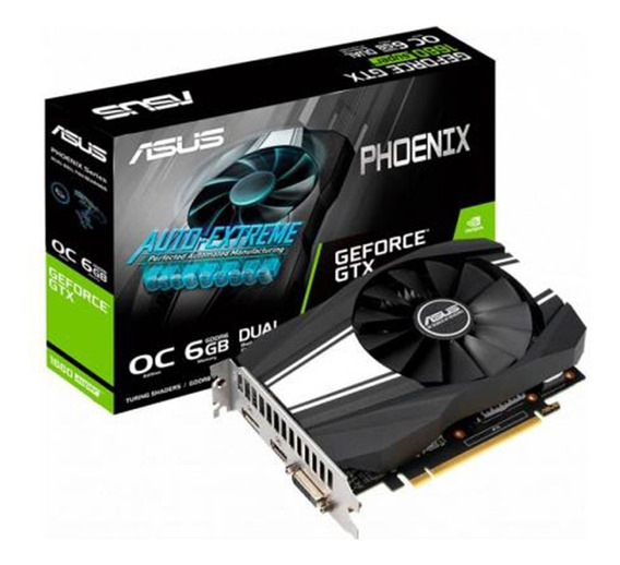 Placa De Video Nvidia Geforce Asus Gtx1660 Super 6goc Phoeni