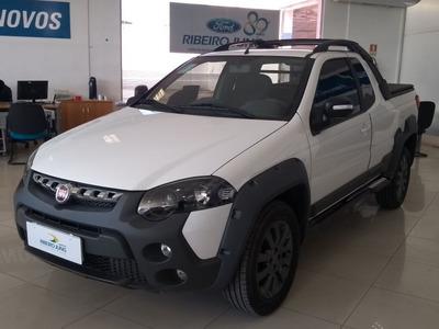 Fiat Strada Adventure Ce 2018 Branca Flex