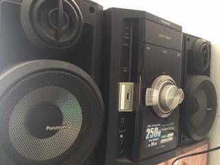 Minicomponente Panasonic Sa-ak270 + Control + Envío Gratis