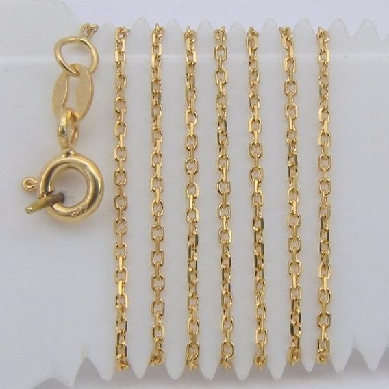 1622 Corrente 40 Cm De Ouro 18k 750