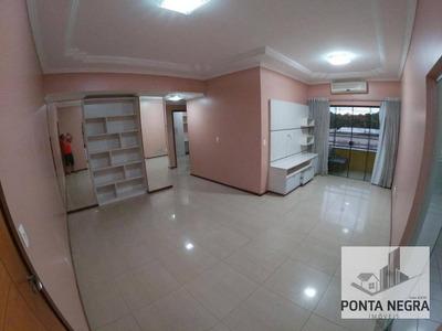 Ilhas Gregas, Apartamento Com 3 Dormitórios Para Alugar, 94 M² Por - Ponta Negra - Manaus/am - Ap0531