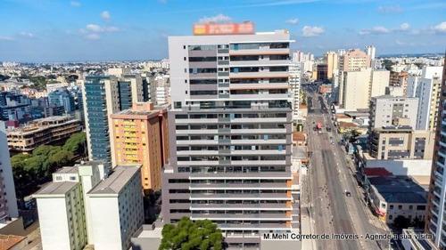 Sala Comercial À Venda Com 56.61m² Por R$ 300.000,00 No Bairro Água Verde - Curitiba / Pr - M2ip-eut814