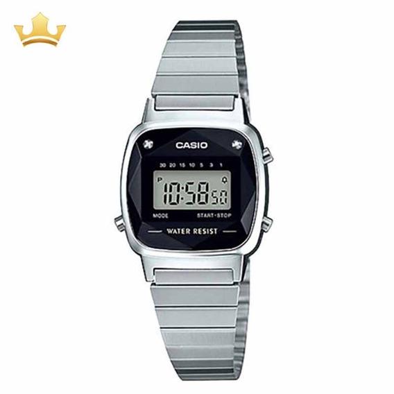 Relógio Casio Feminino La670wad-1df Vintage Com Nf