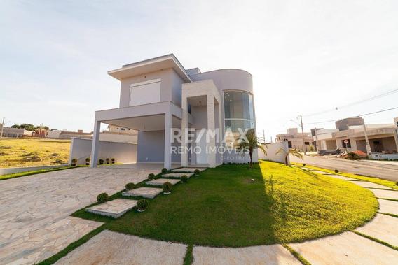 Casa Nova De Esquina Com 3 Suítes Por R$ 860.000 - Condomínio Villa Do Sol - Valinhos/sp - Ca5834