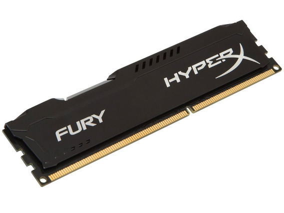 Memoria Pc Hyperx Fury Ddr3 4gb 1866mhz Black Hx318c10fb/4