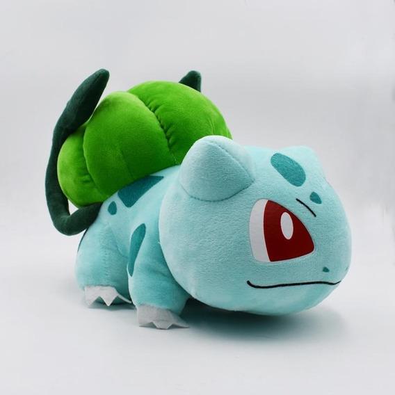 Bulbasaur Pelúcia Grande 35cm Pokemon Pronta Entrega